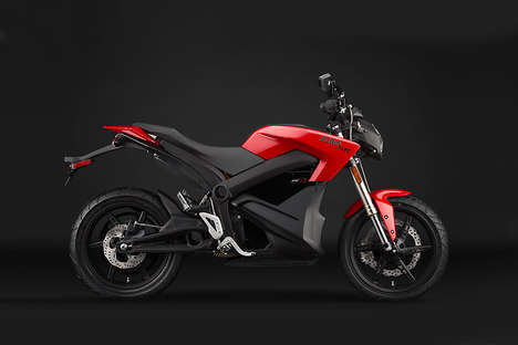 Edgy Electric Motorcycles - The Environmentally Friendly Zero Motorcycles Runs Solely on Electricity