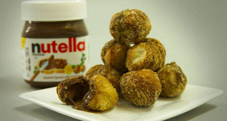 Chocolate Croissant Donut Holes - Dominique Ansel Bakery is Debuting Nutella Cronut Holes in NYC
