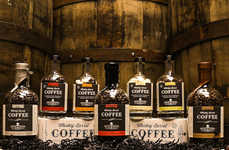 Whisky-Casked Coffee - 'Whisky Barrel Coffee' Beautifully Combines Booze and Java