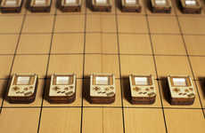 Retro Console Board Games - This Shogi Board Game is Designed in the Likes of Nintendo Game Boy