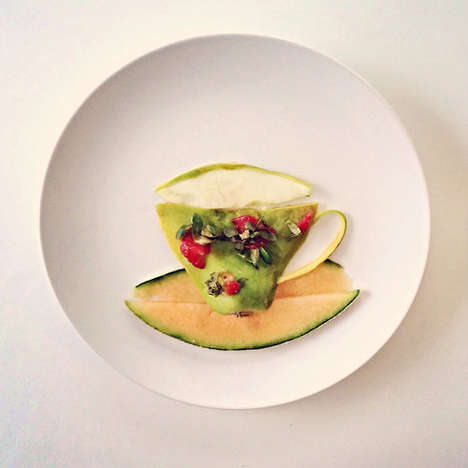 Culinarily Plated Illustrations - Lauren Purnell