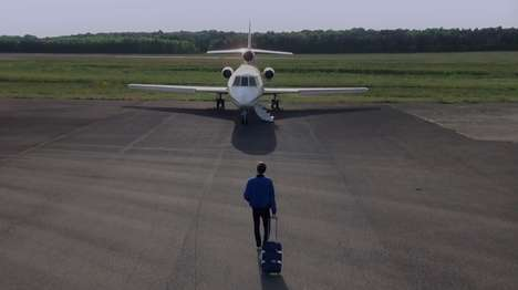 Personal Film Festival Jets - UberJET Privately Flies French Uber Users Directly to Cannes 2014