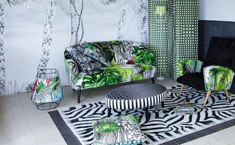 Exotic Home Decor - The Christian Lacroix Home Collection is Eclectically Rich and Bold