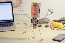 Printable Technology Animators - Printoo Lets Users Bring Everyday Objects to Life