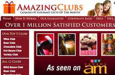 Gourmet Gift Websites - Amazing Clubs is a One-Stop Destination for Exclusive Connoisseur Items