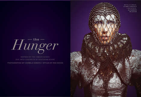 Chic Hunger Games Editorials - Kenton Magazine