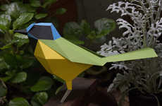 Avian Origami Sculptures