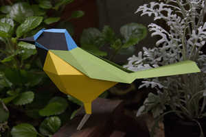 This Bird Origami Pieces Combine the Mathematical with the Natural