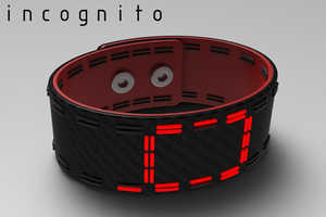 The Incognito Bracelet Tells the Time Without Anyone Having to Know