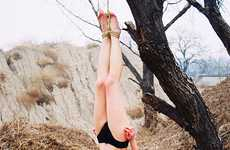 Hanging Contortionist Photography