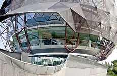 Spherically Shaped Headquarters