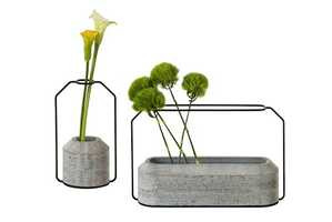 The Weight Vases Will Add a Unique Illusory Effect to Your Greenery