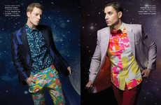 Planetary Formalwear Editorials