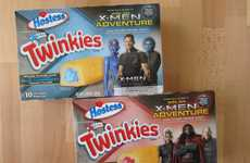 Superhero-Inspired Cakes - These Hostess X-Men Twinkies are X-tremely Tasty