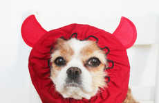 Adorable Dog Disguises - These Dog Snoodes from Etsy Shop DayDogDesigns Make For a Great Costume