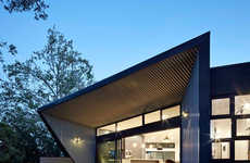Angularly Canopied Homes