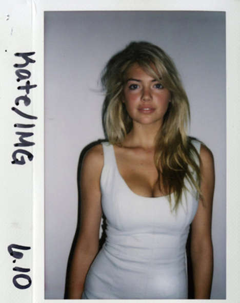 Raw Model Polaroids - These Snapshots Showcase Models Before They Were Famous