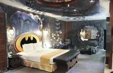 Caped Crusader Hotel Rooms