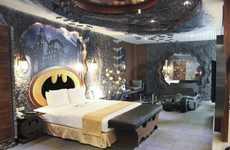 Caped Crusader Hotel Rooms