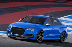 Familial Sport Cars - The New Audi A3 Drives Like a Sports Car with Family-Sized Space