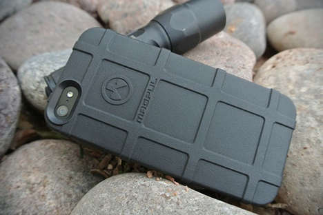 Military-Inspired Phone Cases - The Magpul iPhone 5 Field Case Offers a Tough Method of Protection