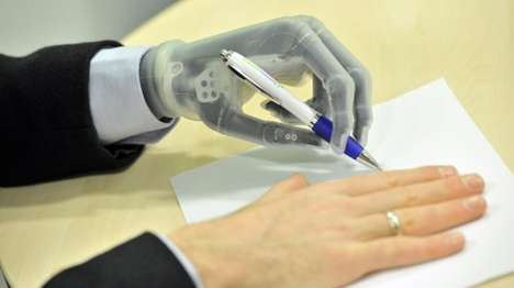 Futuristic Prosthetic Limbs - The i-Limb Ultra Revolution is an Amazingly Advanced Prosthetic Device