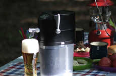 Mini Beer-Chilling Machines - The GOKUREI Machine Turns Warm Beer into Cold Beer Within Minutes
