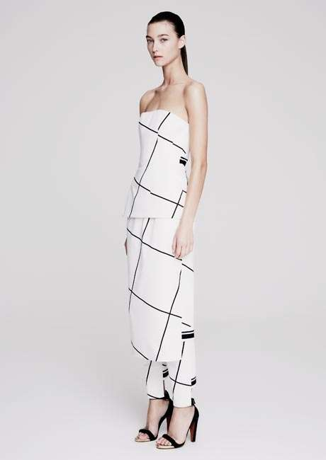 Tiled Minimalism Attire - The Josh Goot Spring/Summer 2014/2015 Collection is Sleek
