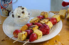 Grilled Cake Recipes - This Cake Kebob Recipe is the Perfect Dessert for a Backyard Barbecue