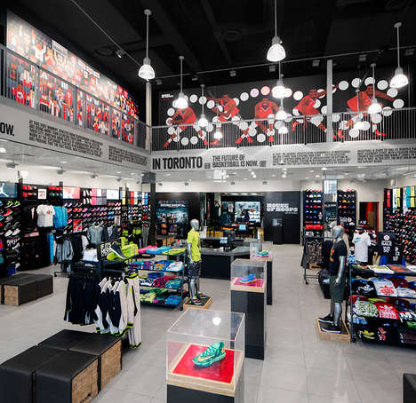 Flagship Basketball Superstores - Toronto is Receiving its Own House of Hoops