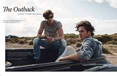 The Apollo Magazine Spread Features Twin Models Jordan and Zac Stenmark