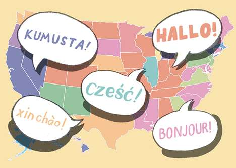 Remarkable Language Maps - Slate