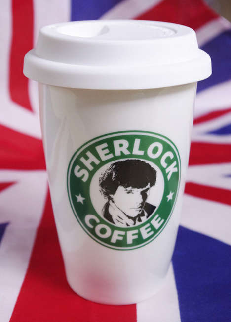 Rebranded Detective Cups - This Sherlock Holmes Coffee Cup Cleverly Parodies the Starbucks Mug