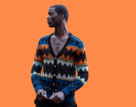Culturally Infused Knitwear - This African Knitwear Breathes Life Through Design