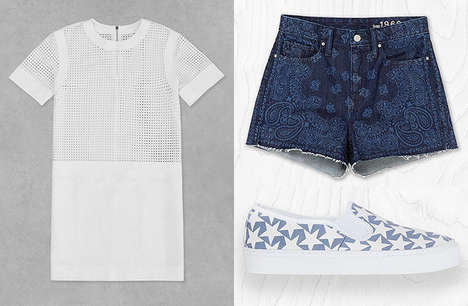 Modern Americana Clothing - The GAP Summer 2014 Collection Boasts a Subdued Color Palette