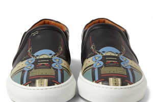 These High-Fashion Givenchy Shoes Have a Robotic Print