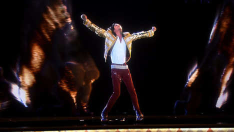 Resurrected Pop King Performances - This Michael Jackson Hologram Breathes New Life to the King