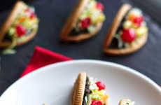 Deceiving Cookie Tacos - These Sweet Tacos are Creatively Made Using Vanilla Oreo Shells