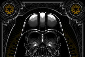 Charles AP Gives Star Wars Characters an Atrophied Makeover