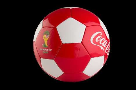 Activity-Encouraging Promotions - Coca-Cola Will Give Away Soccer Balls for This World Cup Promotion