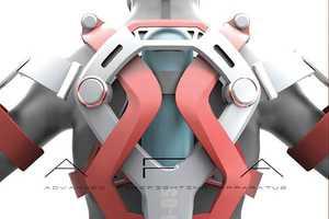The AFA Exoskeleton Makes the Firefighter Feel Like a Superhero