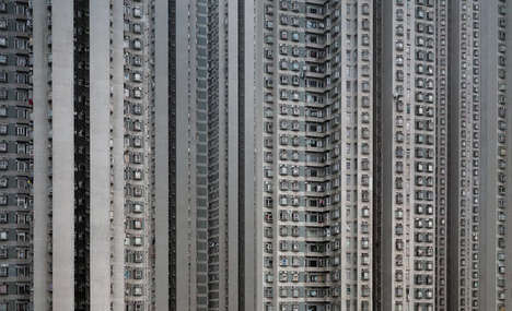 Cramped City Photography - This Megacity Photo Series is Fascinating and Dizzying