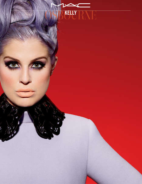 Lilac Celebrity Cosmetics - The Kelly Osbourne MAC Collection is Purple-Themed