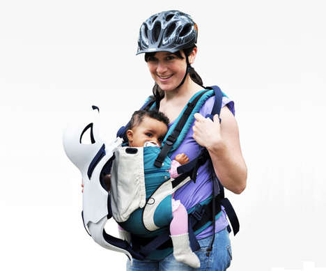 Baby Bike Carriers - The IGI Baby Protector Helps Parents Bring Their Kids Out on the Bike