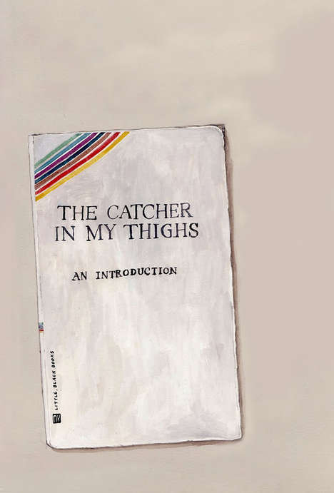 Vulgar Paperback Makeovers - Artist Na Kim Turns Popular Novel Covers into Crude Homonyms