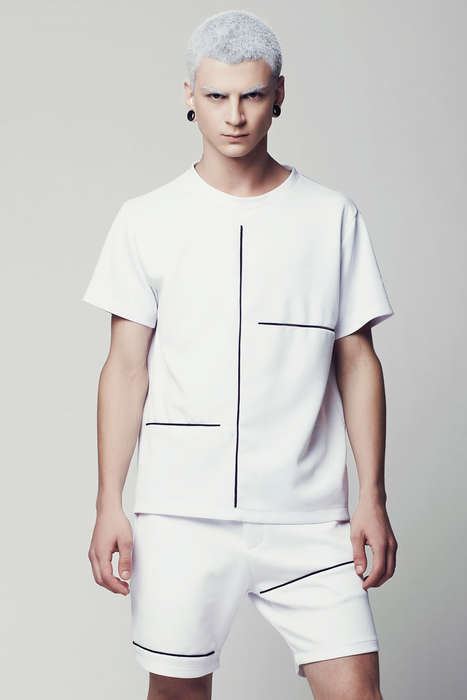 Architectural Punk Catalogs - The Eliran Nargassi Spring Summer 2014 Collection is Streamlined