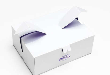 Rabbit-Resembling Packaging - Chocolats Favoris Treats are Sold in Bunny-Inspired Gift Boxes