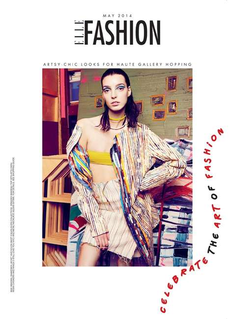 Colorful Muse Editorials - The ELLE Canada