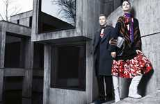 Contrasting Urban Fall Lookbooks