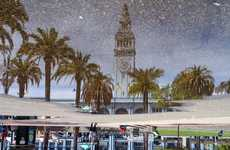 Reflective Street Puddle Photography - Angela May Chen Captures San Francisco Through Puddles